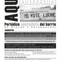 "[Espanha] Saiu o número 5 do periódico anarquista ""Aquí y ahora"""