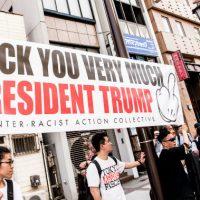 [Japão] Antifascistas vão às ruas de Tóquio contra Trump