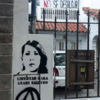 [Argentina] Solidariedade com Anahí Salcedo