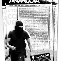 """[Uruguai] Periódico """"Anarquía"""" nº27 já está nas ruas!"""
