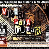 """Cinemateca de Santos recebe lançamento do documentário """"Viver Para Lutar – Punk, Anarquismo e Feminismo: As Minas dos Anos 90"""""""