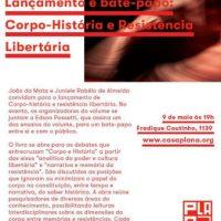 [São Paulo-SP] Lançamento e bate-papo: Corpo-história e resistência libertária