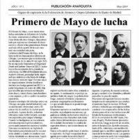 """[Espanha] Saiu """"Acracia"""" nº 1"""