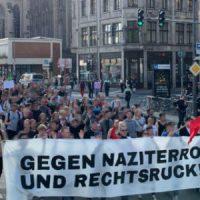 [Alemanha] Manifestação contra assassinatos e ameaças neonazistas