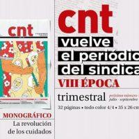 """[Espanha] Volta o jornal """"CNT"""" em papel"""