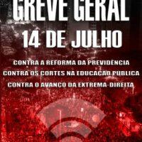 Um chamado anarquista à Greve Geral de 14 de Junho de 2019