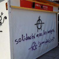 [Grécia] Atenas: imigrantes contra o Syriza