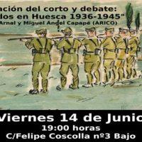 [Espanha] 14 de junho. Curta e debate pelas exumações em Huesca