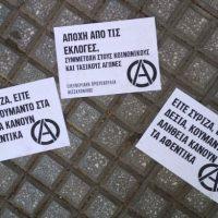 [Grécia] Anarquistas roubam e incendeiam urnas eleitorais em Exarchia, Atenas