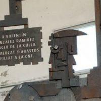 [Espanha] Inaugurado o monólito em homenagem a Valentín González no Mercado Municipal