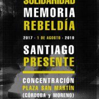 [Argentina] Santiago presente! Terrorista é o Estado!