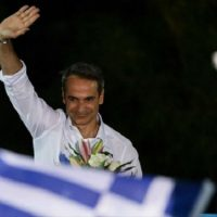 """Kyriakos Mitsotakis vence eleição na Grécia e promete """"mão firme"""" contra anarquistas"""