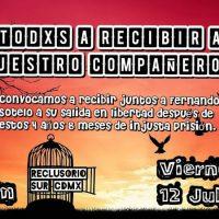 [México] Luis Fernando Sotelo Zambrano deixará a prisão nos próximos dias
