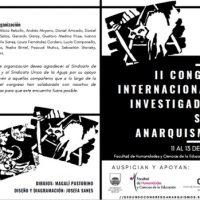 """[Uruguai] Saiu a programação do """"2° Congresso Internacional de Investigadorxs sobre Anarquismo(s)"""""""
