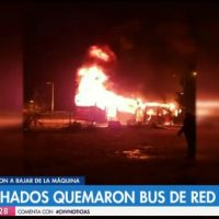 [Chile] Santiago: Adjudicação de atentado incendiário contra ônibus da transantiago e atentado armado contra carabineros