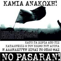 [Grécia] Patras: Manifestação em solidariedade com as okupações despejadas