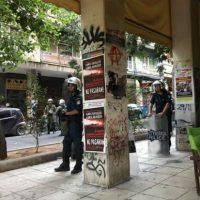 [Grécia] Exarchia sob ocupação policial