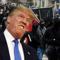 "[EUA] Trump considera declarar os antifascistas como ""grupos terroristas"""