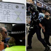 É certo rotular os confrontos de 2019 no Reino Unido e em Hong Kong de anarquia?