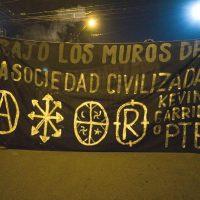 [Chile] Santiago: Registros da Jornada anti-carcerária em memória de Kevin Garrido Fernández