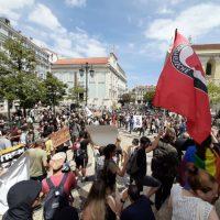 """[Portugal] """"Somos todos antifascistas"""", gritou-se nas ruas de Lisboa"""