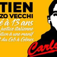 [França] Anarquista Vincenzo Vecchi é preso, condenado pelos protestos contra cúpula do G8 em Gênova em 2001