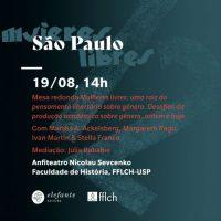 [São Paulo-SP] Gênero, pensamento libertário e pesquisa, com Martha Ackelsberg