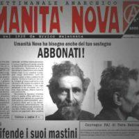 """[Itália] Centenário do semanário anarquista """"Umanità Nova"""""""