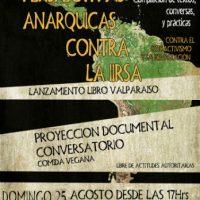 """[Chile] Valparaiso: Lançamento do livro """"Perspectivas Anarquicas Contra La IIRSA"""""""