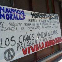 [Espanha] Madri: Faixas em memória dxs anarquistas caídxs em ação