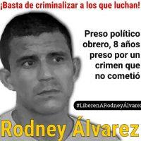 [Venezuela] Campanha de solidariedade com Rodney Álvarez
