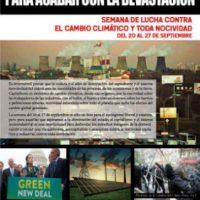 [Espanha] Convocatória Semana de Luta Contra a Mudança Climática e Toda Nocividade – de 20 a 27 de setembro