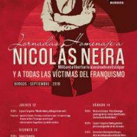 [Espanha] Jornadas de homenagem a Nicolás Neira e a todas as vítimas do fascismo | 12 a 14 de setembro