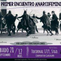 [Chile] Santiago: 1º Encontro anarcofeminista | 28 setembro