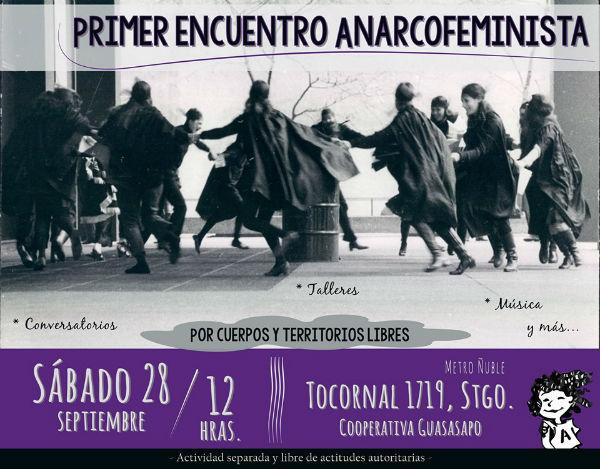 Chile] Santiago: 1º Encontro anarcofeminista | 28 setembro