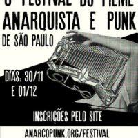 Estão abertas inscrições para 8° Festival do Filme Anarquista e Punk de SP