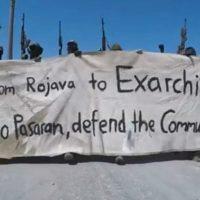 Vídeo | De Rojava à Grécia, nós mandamos cumprimentos revolucionários a Exarchia.
