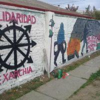 """[Chile] Santiago: """"Resistência, amor e carinho axs rebeldes que seguem resistindo em Exarchia"""""""