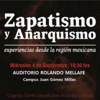 [Chile] Debate: Zapatismo e Anarquismo