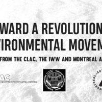 [Canadá] Em Direção a um Movimento Ambiental Revolucionário