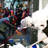 [México] Anarquistas participam de protesto para lembrar 51 anos do Massacre de Tlatelolco