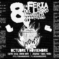 [Uruguai] Programação da 8ª Feira do Livro Anarquista de Montevidéu