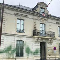 [França] Ataque contra consulado turco em Nantes em apoio a Rojava