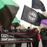 [Rússia] Grande protesto em Moscou demanda a soltura de prisioneirxs políticxs