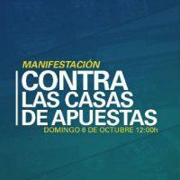[Espanha] Manifestação contra as casas de apostas