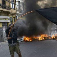 10º dia de protestos no Chile