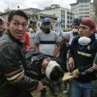 [Equador] Feridos durante os protestos formam coletivo de vítimas para denunciar seus casos