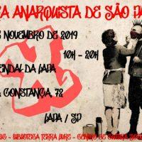 A X Feira Anarquista de São Paulo está chegando!