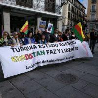 [Espanha] Madrid se mobiliza em apoio a Rojava