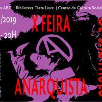 Confira a programação da edição 2019 da Feira Anarquista de São Paulo